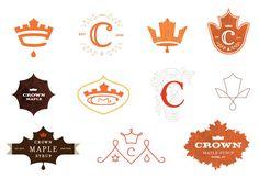 Crown Maple Process logos