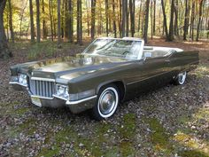 1970 DeVille Convertible Convertible, 1959 Cadillac, Old School Cars, Ford Galaxie, Us Cars, Dream Garage, Gto, Cars And Motorcycles, Vintage Cars