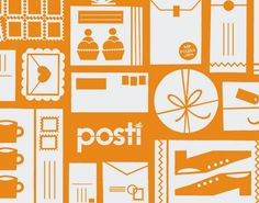 Finnish Post renewed it's appearance early 2015 and Polkka Jam was asked to make a pattern design for some consumer products such as envelopes and parcels. Design by Kristiina Haapalainen & Sami Vähä-Aho 2014.