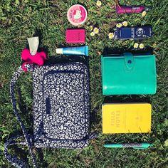 3f94c1c65f4 what s in my bag walking my dog edition bag by vera bradley vera bradley  cheetah print