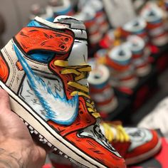 Cop or drop? Comment below 👇🏽 Top 15 favorites of 2018 is from @stompinggroundcustoms huge transformation with the AJ1 base to a DBZ-…