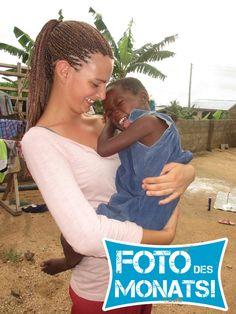 Foto des Monats Oktober! Viel Spaß im Projekt Sozialarbeit in #Ghana mit Teresa :)