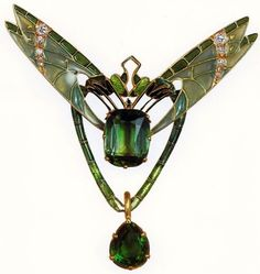 http://rubies.work/0437-sapphire-ring/ Lalique Two Dragonflies pendant