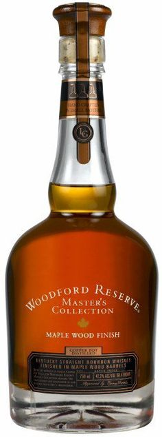 Woodford Reserve Master's Collection Maple Wood Finish Bourbon Whisky