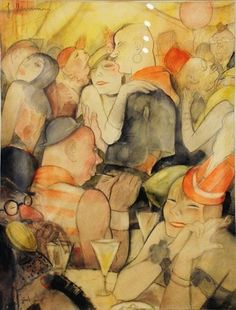 Color: It's About Time: Germany's 1920s Weimar Women by Jeanne Mammen 1890-1976
