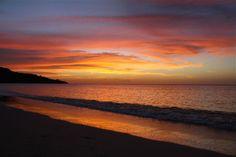Beach Sunset Sweet Wallpaper for Desktop