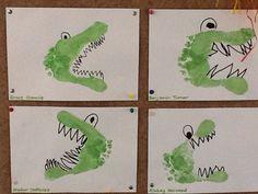 Footprint crocodiles