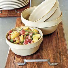Southern Living Set of 3 Vintage Mixing Bowls by Ballard Design