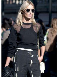 Marie Claire Paris Street Style - want this hair cut.