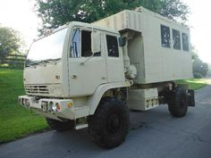 LISTED IS A RUGGED OFF-ROAD EMP PROOF EX-MILITARY M1079 CAMPER TRUCK THAT WILL GO ANYWHERE YOU WANT IT TO. 4,471 ORGINAL MILES!. YES! 4,471 ORGINAL MILES. - Military Vehicles, Stewart and Stevenson Trucks, Surplus Military Equipment Overland Truck, Expedition Vehicle, Bug Out Vehicle, Heavy Truck, John Deere Tractors, Jeep Truck, Military Equipment, Heavy Equipment, Tactical Gear