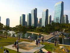 SONGDO CENTRAL PARK, INCHEON, SOUTH KOREA - As a fan of the Song Tripkets, who wouldn't want to see them?!