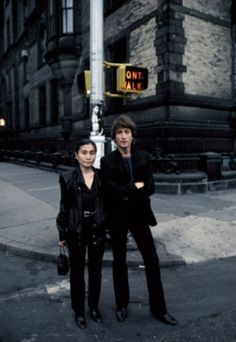 'John couldn't go out anywhere while he was in the UK because of his fame,' writes Yoko. 'Coming to New York gave him freedom. I think this was the moment when he took off his armor.' Ironically, John was killed in front of the New York City apartments building behind the couple, where they lived.   26.3. 2015, NCO eCommerce, http://netkaup.is/2013/10/09/the-beatles-as-the-best-artist-of-all-time/