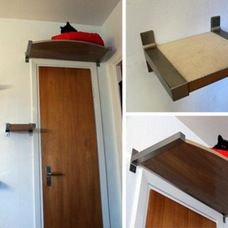 Ikea Hack Cat Shelf