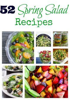 52 Spring Salad Recipes