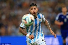 Incoming: Marcos Rojo is heading to Manchester United after they agreed a fee with Sportin...