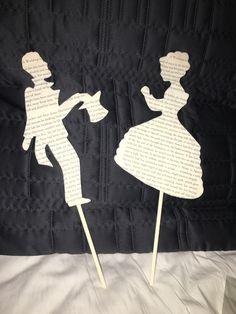 Made my own cake toppers for my literary themed wedding…PIX** - Weddingbee