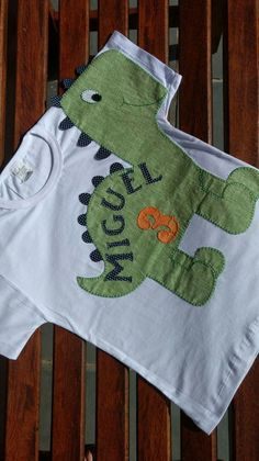 Camiseta Dino Baby | Rê Canto | Elo7