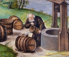 Did people drink water in the Middle Ages? Not usually. Water was made into ale. HUZZAH!