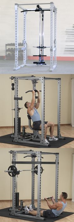 5f12815b9ac Power Racks and Smith Machines 179815  Lat Pulldown Attachment For  Body-Solid Power Rack