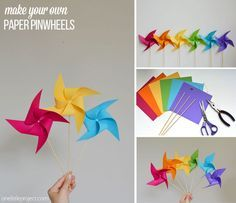 origami decorations how to make a pinwheel origami best paper pinwheels ideas on pinwheel decorations template simple origami christmas decorations Pinwheel Decorations, Pinwheel Craft, Christmas Decorations, Pinwheel Tutorial, Windmill Diy, Paper Windmill, Summer Crafts, Fun Crafts, Diy And Crafts