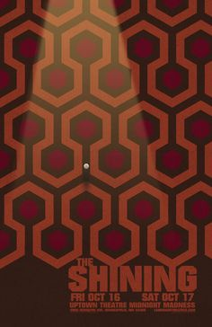 Overlook Hotel Carpet Metal Wall Plaque Printed Art The Shinning Horror Thrill