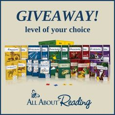 Giveaway – All About Reading Level of Choice! | All About Learning Press