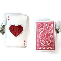 NWT Place Your Bets Ace Of Hearts Cards Vegas Coin New with tags, Kate spade place your bets red ace of hearts Vegas casino card deck coin purse. RRP: $125 kate spade Bags Wallets