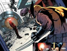 Wolverine and Cyclops by Pepe Larraz