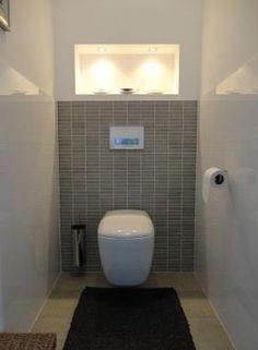 modern betegelde toilet - Google zoeken