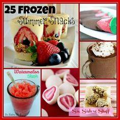 25 Frozen Summer Snacks