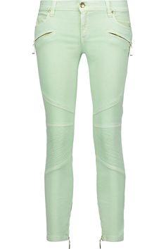 JUST CAVALLI Low-Rise Skinny Jeans. #justcavalli #cloth #jeans
