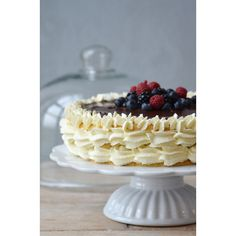 Ib Laursen Tortenplatte Mynte in Pure White mit Schönheitsfehler Cake Stands bei Home of Cake