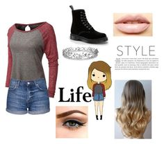 """""""Chill"""" by mfrias02 on Polyvore featuring Topshop, Dr. Martens, LASplash and Effy Jewelry"""