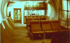 Social space within Kingsway Telephone Exchange. Image: BT