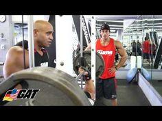 Team GAT: GAT Athlete Sadik Hadzovic Workout at Camp Menace Part 1