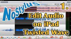 Twisted Wave iPad Audio Editor - Part 1, via YouTube.
