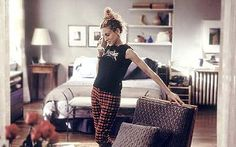 Carrie Bradshaw's apartment may be the ultimate bachelorette pad, though it still has a perfectly lived in, welcoming interior style. And of course, who could forget that closet?   - HouseBeautiful.com