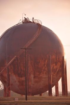 Photo Of Old Tank In Teague Texas