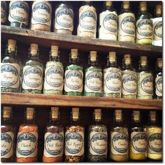 DIY Vintage Apothecary Spice Bottles
