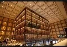Biblioteca Beinecke de libros raros y manuscritos. Universidad de Yale.