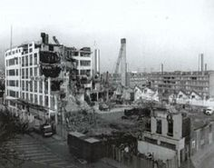 Samuel Jones Factory in Southampton Way Peckham South East London England after it was demolished in 1982 Old Pictures, Old Photos, Paris Skyline, New York Skyline, London History, South London, Street Photo, Southampton, London England