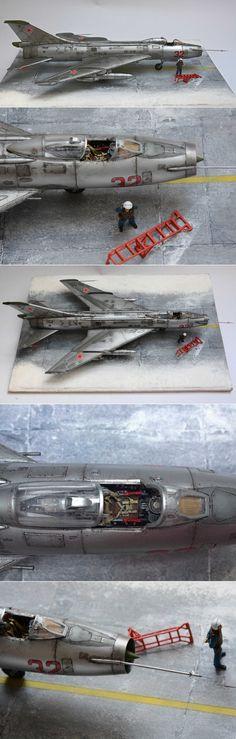 Sukhoi Su-7 1/48 KoPro 2a parte