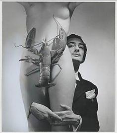 Dali Photography Woman And Lobster   surrealismo # surrealism # cristo # cruz