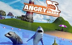 Free Game: Angry shark: Simulator 3D