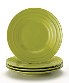 Rachael Ray Double Ridge 4-Piece Green Cereal Bowl Set | Let Creuset | Pinterest | Cereal bowls and Bowl set  sc 1 st  Pinterest & Rachael Ray Double Ridge 4-Piece Green Cereal Bowl Set | Let Creuset ...