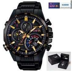 Casio EQB-500RBK EDIFICE F1 Kvyat Ricciardo Redbull Bluetooth