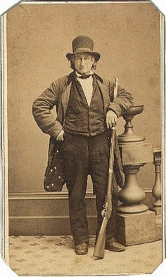John Burns. Veteran of the War of 1812. On July 1, 1863 a Civil War battle - Gettysburg - started in his back yard. Grabbed his musket and joined the Union Army in the fight. Wounded three times but survived. Passed away at the age of 79.