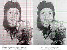 HOW TO COPY FROM A REFERENCE PHOTO In this blog post Phil shows you how to master the Grid Method.