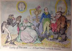 James Gillray, Leaving off Powder (1795)
