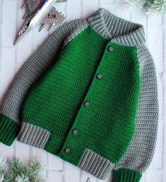 Irresistible Crochet a Doll Ideas. Radiant Crochet a Doll Ideas. Baby Boy Knitting, Baby Cardigan Knitting Pattern, Crochet Jacket, Knitting For Kids, Baby Knitting Patterns, Knit Crochet, Next Clothing Kids, Baby Pullover, Crochet Baby Clothes